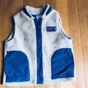 Patagonia vest 18 months